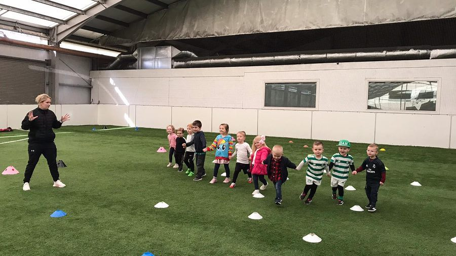 Football Classes for ages 18 months and up